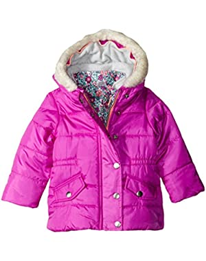 Baby Girls' Infants Heavyweight Systems Jacket