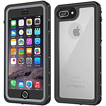 buy popular 27e99 985e1 iPhone 7 Plus/8 Plus Waterproof Case, OTBBA Underwater Snowproof Dirtproof  Shockproof IP68 Certified with Touch ID Full Sealed Cover Waterproof Case  ...