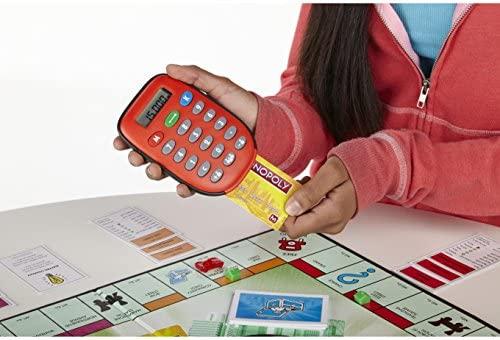 Hasbro Monopoly Elektronisch Bankieren Niños Simulación ...