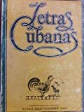 img - for Letras cubanas,revista numero 1 ano 1.julio-septiembre de 1986. book / textbook / text book