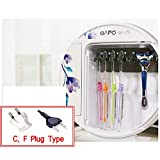 GAPO Household Semi-permanent UV-rays LED Toothbrush sterilizer dryer