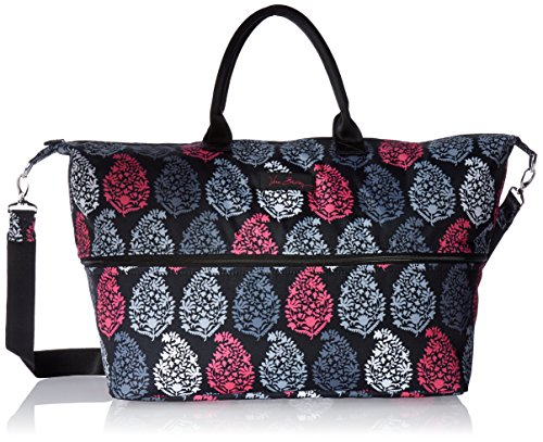 Vera Bradley Women's Lighten Up Expandable Travel Bag, Northern Lights