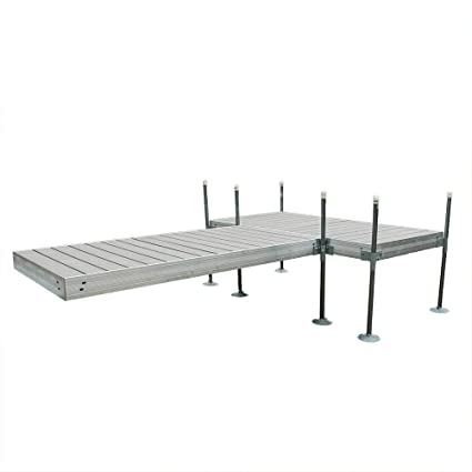 Amazon.com : Tommy Docks 12 ft. T-Style Aluminum Frame with Decking ...