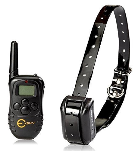 Esky 330 Yards Rechargeable LCD Display Remote Training Collar (For one dog)