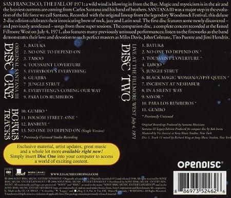 Carlos Santana Supernatural (Legacy Edition) [2CDs] (2010)