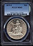 US Coins (1873-1878)-S TRADE DOLLARS 6pcs copy Coins