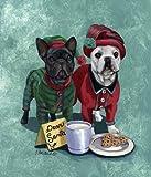 French Bulldog Christmas PJs%2DGF
