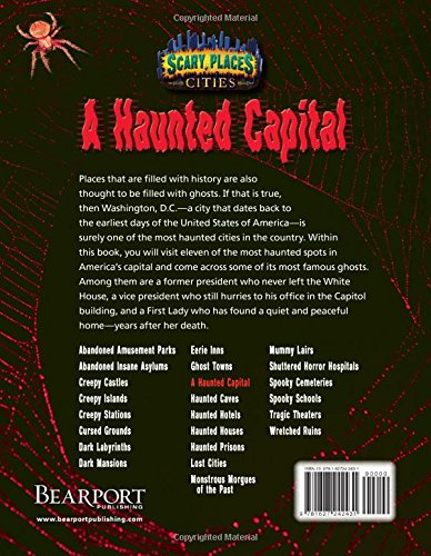 A Haunted Capital Scary Places Natalie Lunis 9781627242431