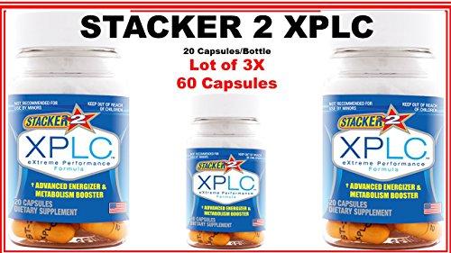 Stacker 2 Xplc 60 Cap poids perte graisse Burn Ephedra gratuit