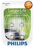 ford contour trunk seal - Philips 12844 LongerLife Miniature Bulb, 2 Pack