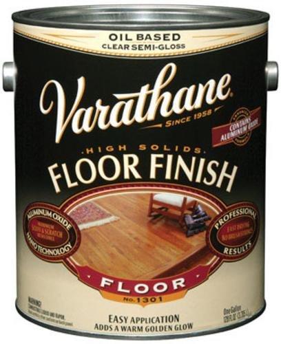 Floor Varathane Premium (RUST-OLEUM 214551 Varathane Gallon Semi Gloss Oil Base Premium Polyurethane Floor Finish)