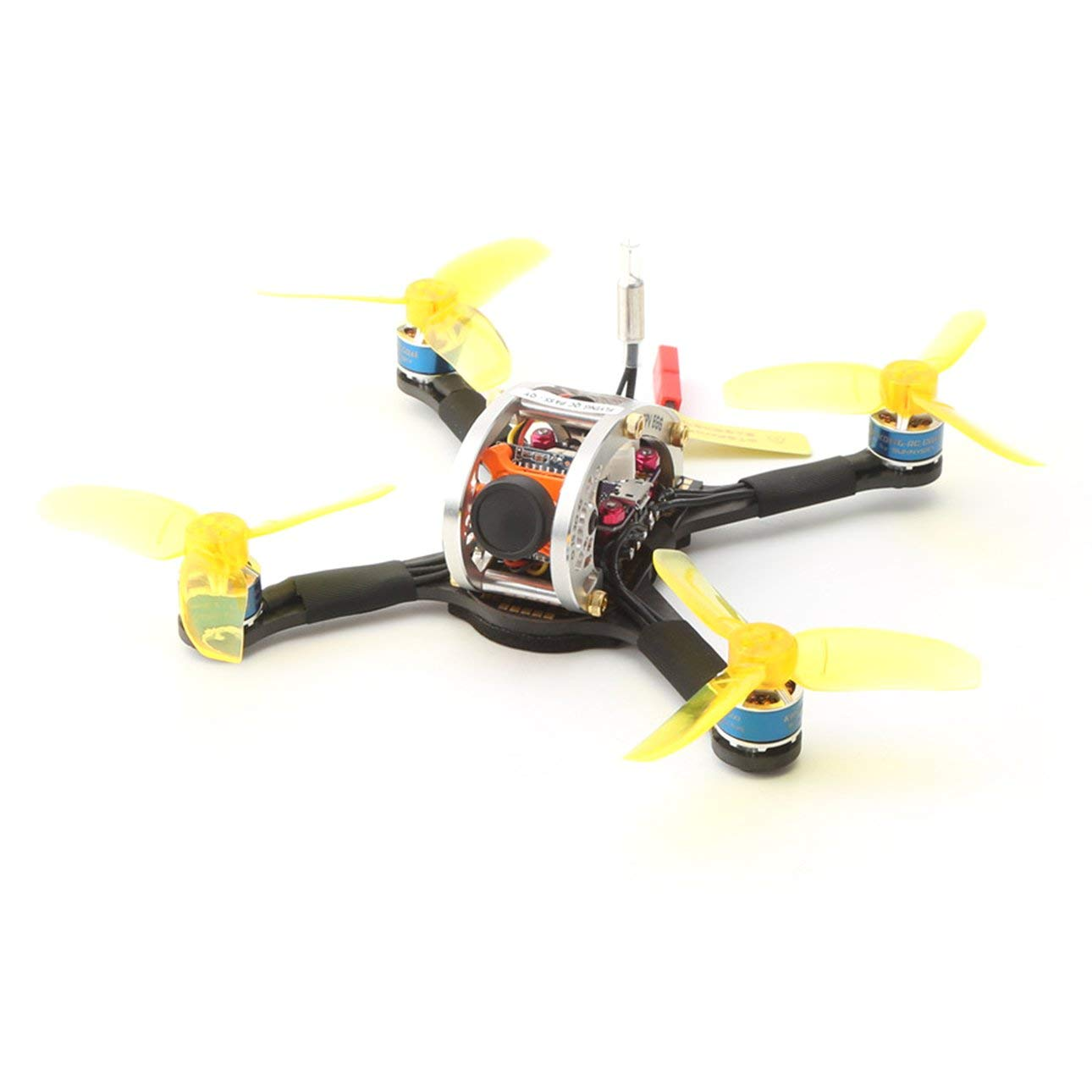 Drohne mit Kamera LDARC FPVEGG V2 5.8G Brushless OSD Kamera Mini FPV RC Racing Drone PNP Version von Ballylyly