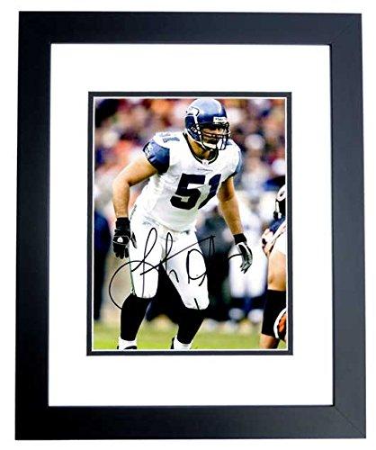 Lofa Tatupu Signed - Autographed Seattle Seahawks 8x10 inch Photo BLACK  CUSTOM FRAME - Guaranteed to 417a71326
