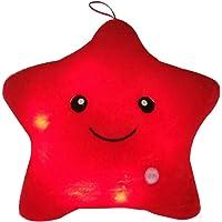 Mystery&Melody LED Estrella Almohadas Luminoso Suave Cojines Maravilloso