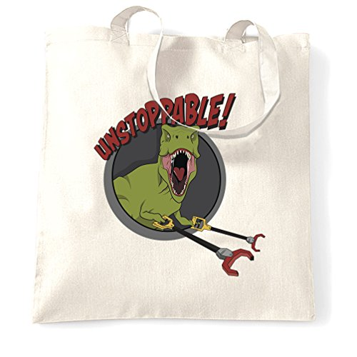 Bag Unstoppable Novelty White Hands Grabber Natural Rex Size Tote One With T fAwS6q