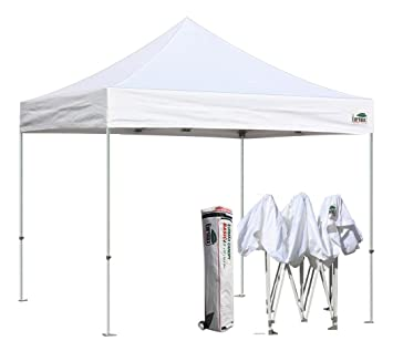 2 Eurmax - Basic 10u0027x10u0027 Pop Up Commercial Canopy  sc 1 th 212 & Best Pop Up Canopy Tent Reviews - Top 5 Comparison and Buying Guide