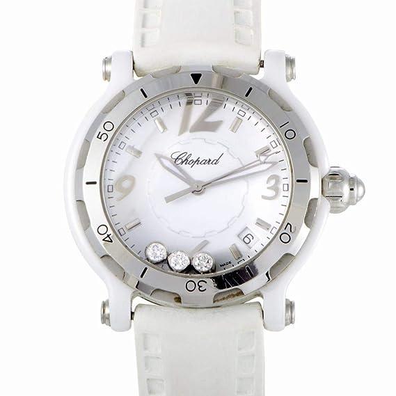 Chopard Feliz Deporte Cuarzo Mujer Reloj 288507 - 9020 (Certificado) de segunda mano: Chopard: Amazon.es: Relojes