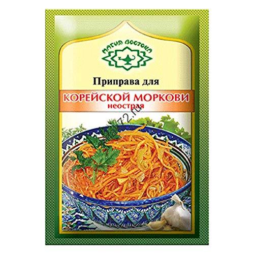 Magia Vostoka for Korean Carrot NOT Hot Koreiskaia Morkovka Russian Seasoning 15g Pack of 5