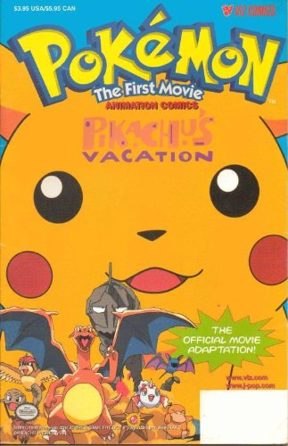 Pokemon The First Movie Pikachu's Vacation