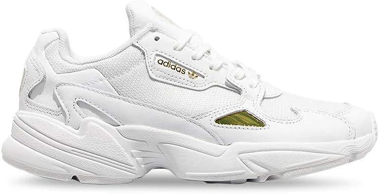 chaussure falcon adidas blanche