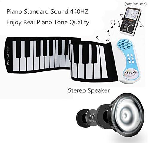 Silicon Flexible Musical Instrument Gift for Children CELISUN GESUN 49 Keys Hand Roll Piano Portable Electronic Keyboard
