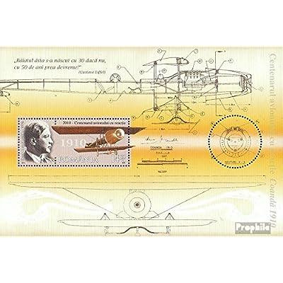 Roumanie Block481I (complète.Edition.) 2010 avion (Timbres pour les collectionneurs)