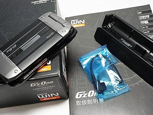 G'zOne W62CA(バーンドブラック)