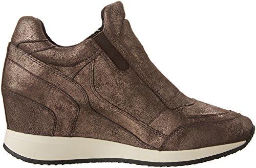 Geox , Damen Sneaker braun Coffee