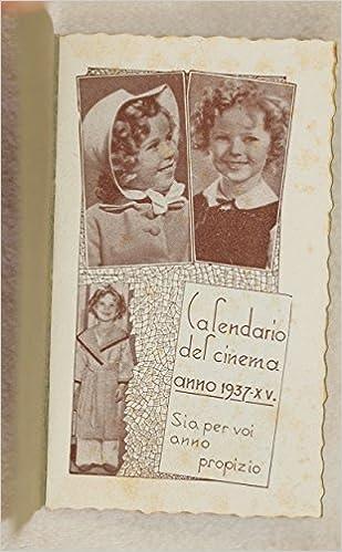 Calendario 1936.Amazon It Calendario Del Cinema Campione Dimostrativo