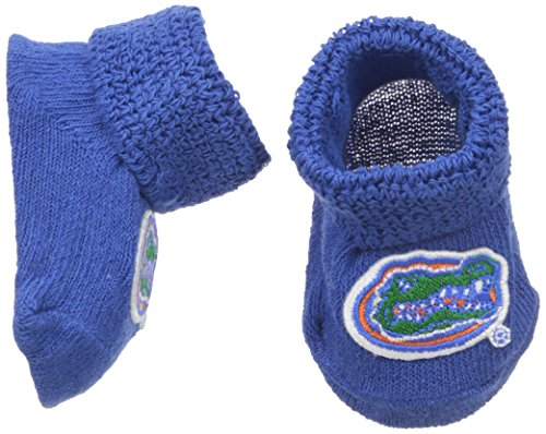 NCAA Florida Gators Infant Gift Box Booties, One Size, Royal