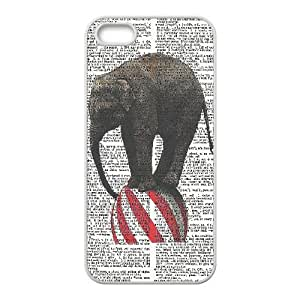 Elephant on Dictionary ZLB522561 Unique Design Phone Case for Iphone 5,5S, Iphone 5,5S Case by icecream design