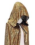 Hamour Unisex Halloween Cape Full Length Hooded