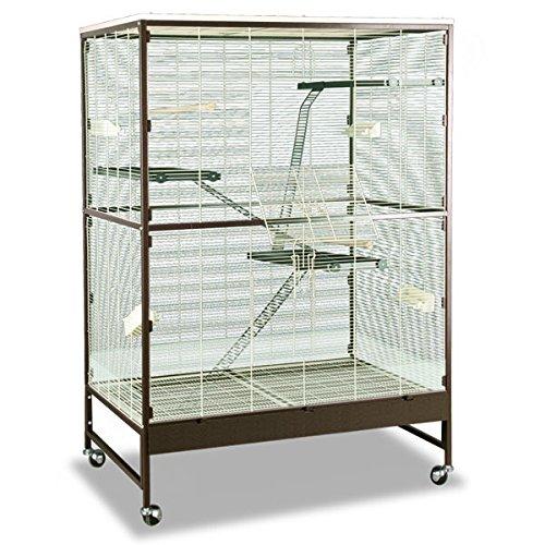 Montana Cages | Voliere, Zimmervoliere, Käfig Sevilla III - Antik/Platinum