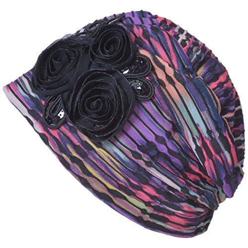 Floral Ladies Hat Charm - 4