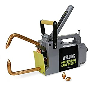 GHP 240V 7″ Throat 6.6KW Input Air-Cooled Spot Welder with 6″ Tong Standard Tips