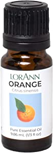 LorAnn Orange Oil (100% Pure Food Grade Essential Oil), 1/3 Ounce Dropper Bottle