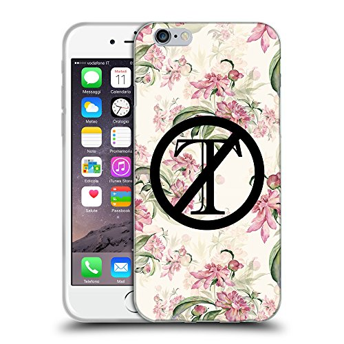 Super Galaxy Coque de Protection TPU Silicone Case pour // Q04120532 Trump dehors floral croquis // Apple iPhone 6 4.7""