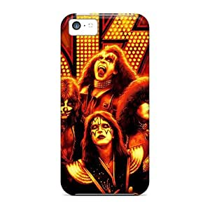 For Iphone 5c Premium Tpu Case Cover Kiss Protective Case