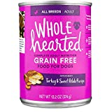 WholeHearted Grain Free Adult Turkey and Sweet Potato Recipe Wet Dog Food, 13.2 oz., Case of 12