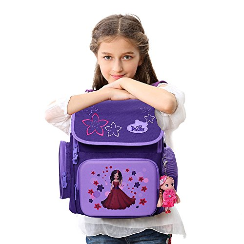 ed0ac46c30 Search results. delune 2. Delune School Backpack for Girls Kids School Bag  with Lovely Doll ...