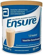 Abbott Ensure Vanille Poeder Drinkvoeding melkpoeder 400g blik - 24 stuks