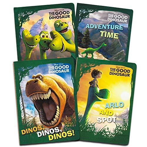 Disney Pixar Good Dinosaur My First Books for Toddlers Kids Baby (Set of 4 Shaped Disney Dinosaurs Board Books)