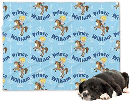 RNK Shops Custom Prince Minky Dog Blanket - Regular (Personalized)