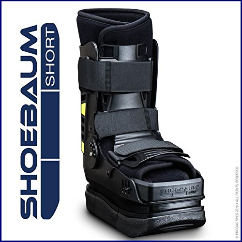 Shoebaum Short Walker with Lateral Shock Reduction Technology (One-Size 7 to 11)