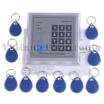 Amazon com : Security RFID Proximity Entry Door Lock Access Control