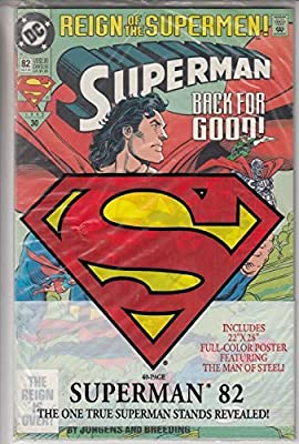 Reign Of The Supermen Superman Back For Good The Reign Is Over 82 Oct 93 1993 30 Jurgens Breeding Books Amazon Com