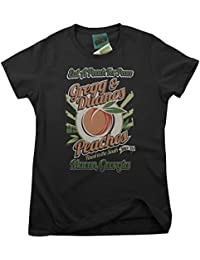 Allman Brother Inspired Eat A Peach For Peace, Women's T-Shirt