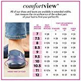 Comfortview Women's Wide Width The Jemma Flat