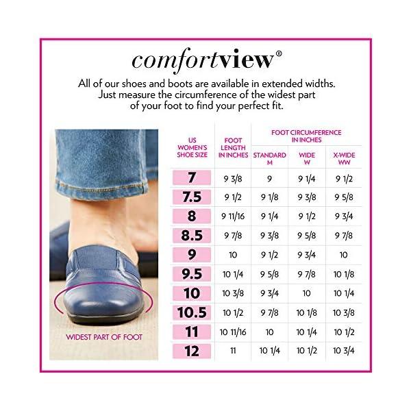 Comfortview Women's Wide Width The Analia Slip-On