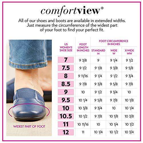 Comfortview Women's Wide Width The Peta Bootie